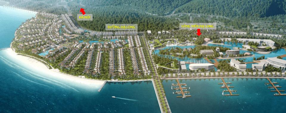 Phối cảnh tổng thể Premier Village Hạ Long Resort