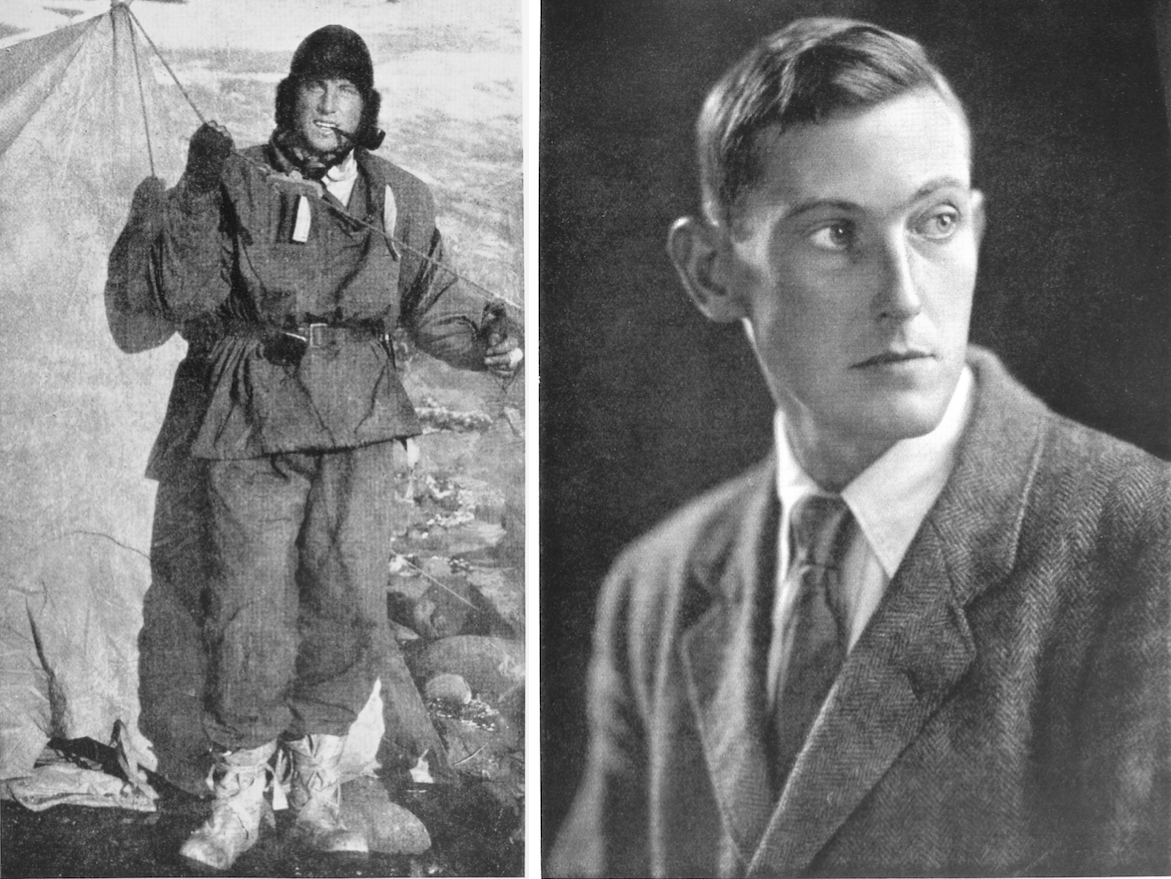 Some facts - George Mallory's last ascent on Mt. Everest ... George Mallory And Andrew Irvine