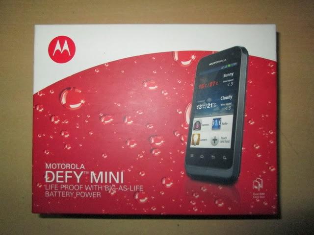 hape outdoor Motorola Defymini XT321