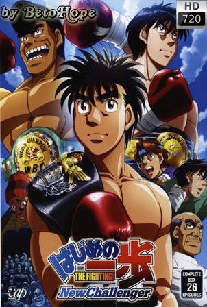Hajime no Ippo: New Challenger [Pesado y Ligero]  [2009] [720] [Japones Subtitulado] [Google Drive] GloboTV