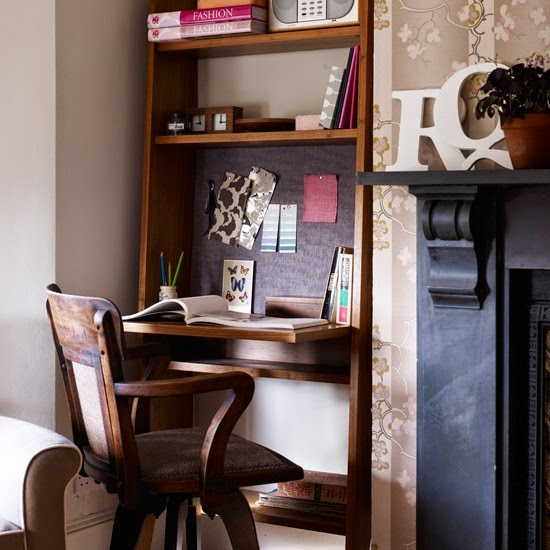 Tickled By Inspirations...: Create A Cozy Office At Home