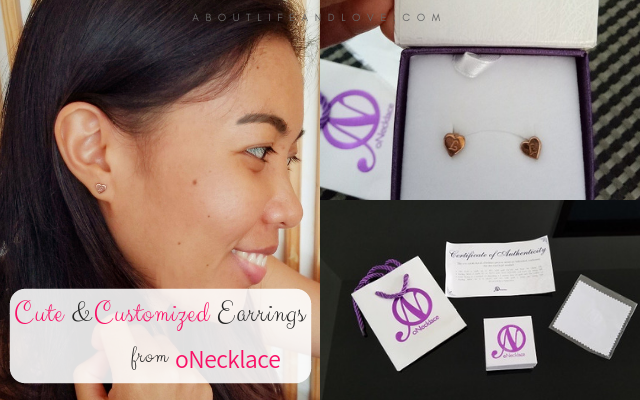 Cute And Customized Earrings From oNecklace