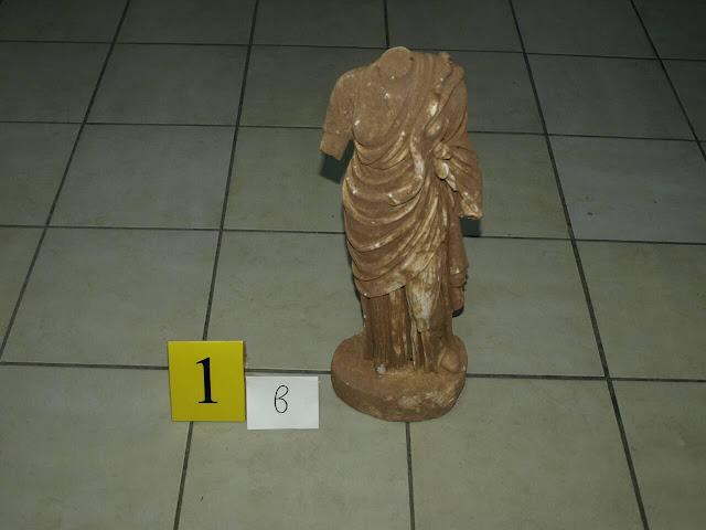 Άγαλμα της θεάς Υγείας στα χέρια αρχαιοκάπηλων στη Σπάρτη (βίντεο)