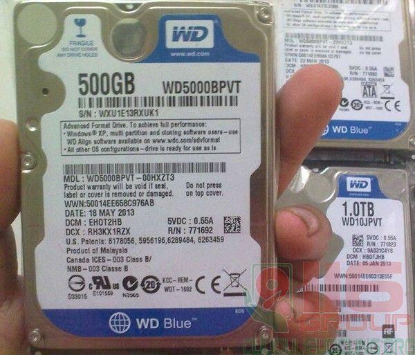 Cứu dữ liệu laptop Asus ổ cứng không nhận