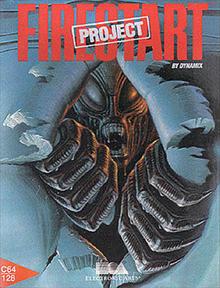 Portada videojuego Project Firestart