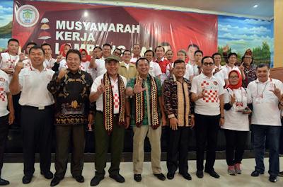 Gubernur Ridho Buka Musyawarah Kerja DPP Lampung Sai 2018