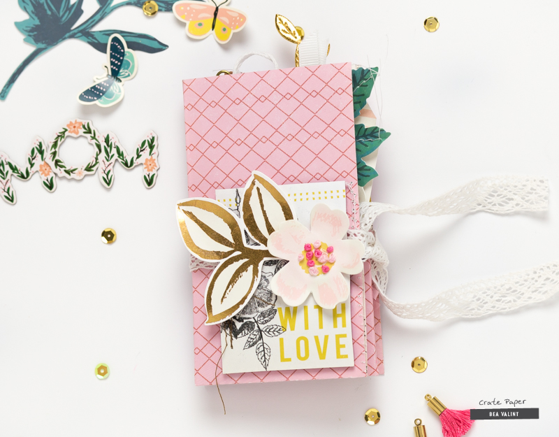Bea valint mothers day mini album crate paper dt im so excited that this week were celebrating mothers at the crate paper blog being a mom is all about family and mothers day is a great time mightylinksfo