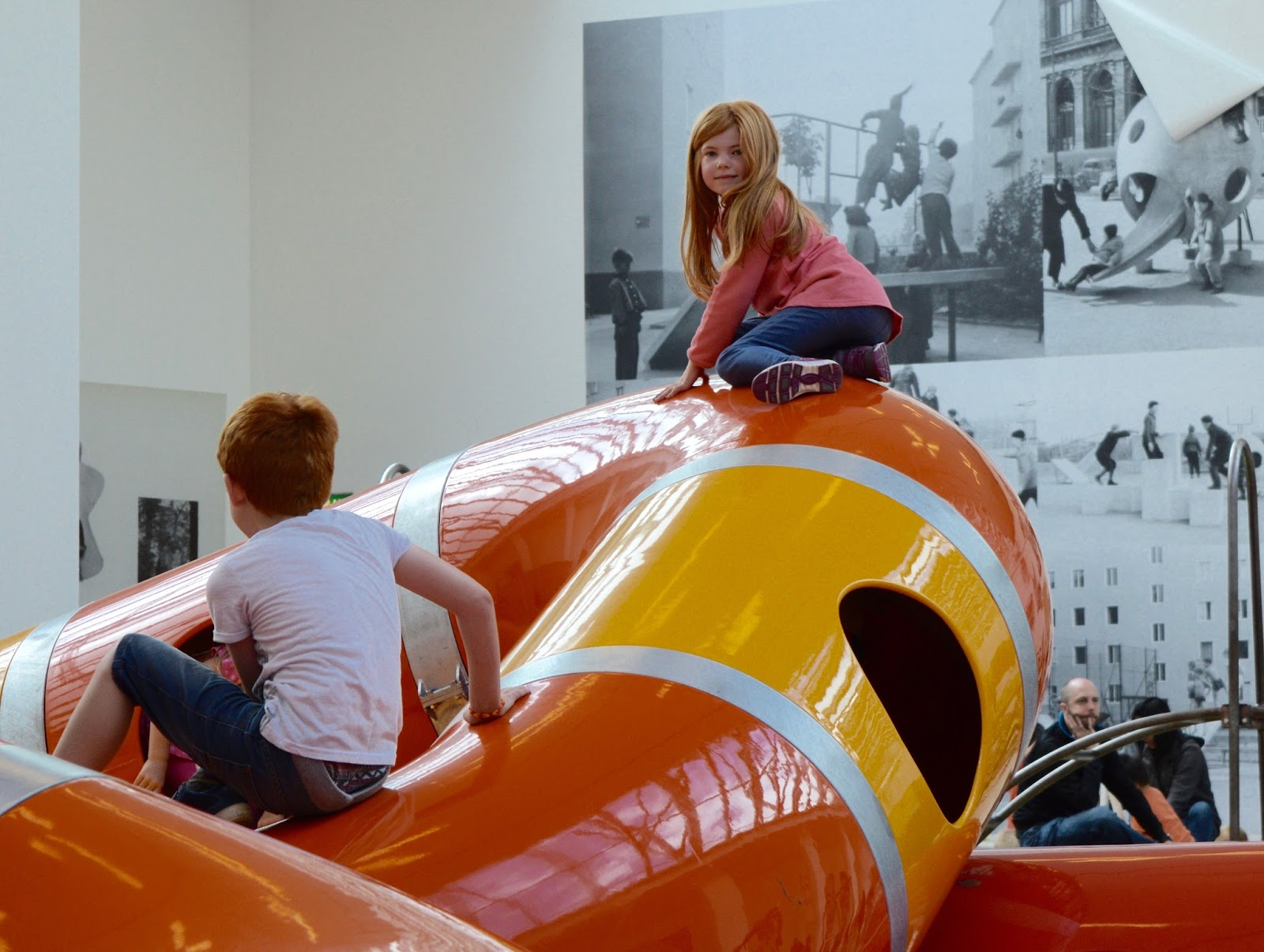 The Playground Project | Baltic Newcastle Snake slide/tube