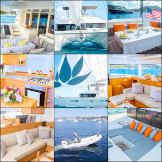 Catamaran Lotus Crewed Vacation Sailing Yacht Charters in the Virgin Islands