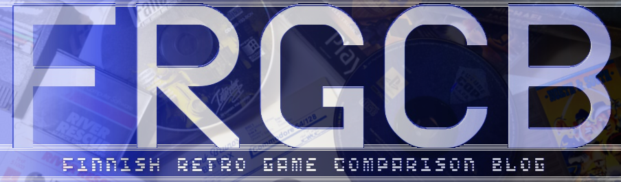 FRGCB - Finnish Retro Game Comparison Blog