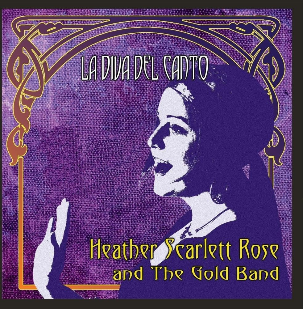 Our CD with Heather Scarlett Rose (as Gold Band)