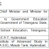Telangana State Best Teachers Awards lists 2016