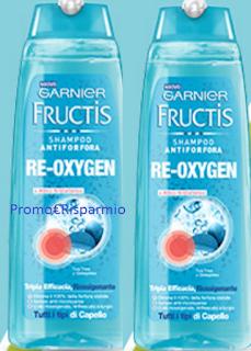 Logo Diventa tester shampoo Re-Oxygen Fructis di Garnier