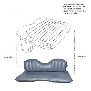 letto materasso gonfiabile