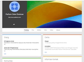 7 Langkah Mudah Membuat Fanspage Google Plus