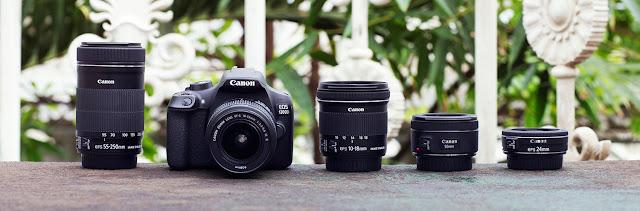 كاميرا كانون canon1300d