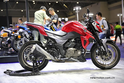 Suzuki GSX S300 Rebranded as Haojue DR 300 in China