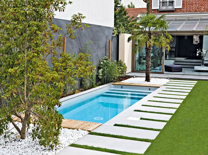 10 piscinas lindas e pequenas decora o e inven o for Piscinas grandes baratas
