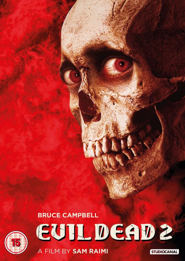 evil dead 2 dvd