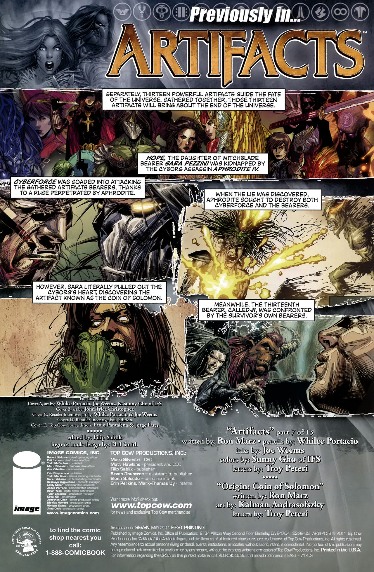 Read online Artifacts comic -  Issue #7 - 4