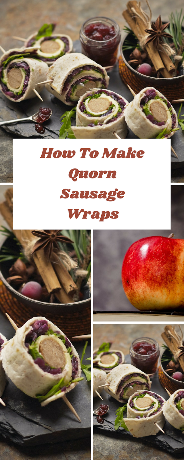 How To Make Quorn Sausage Wraps