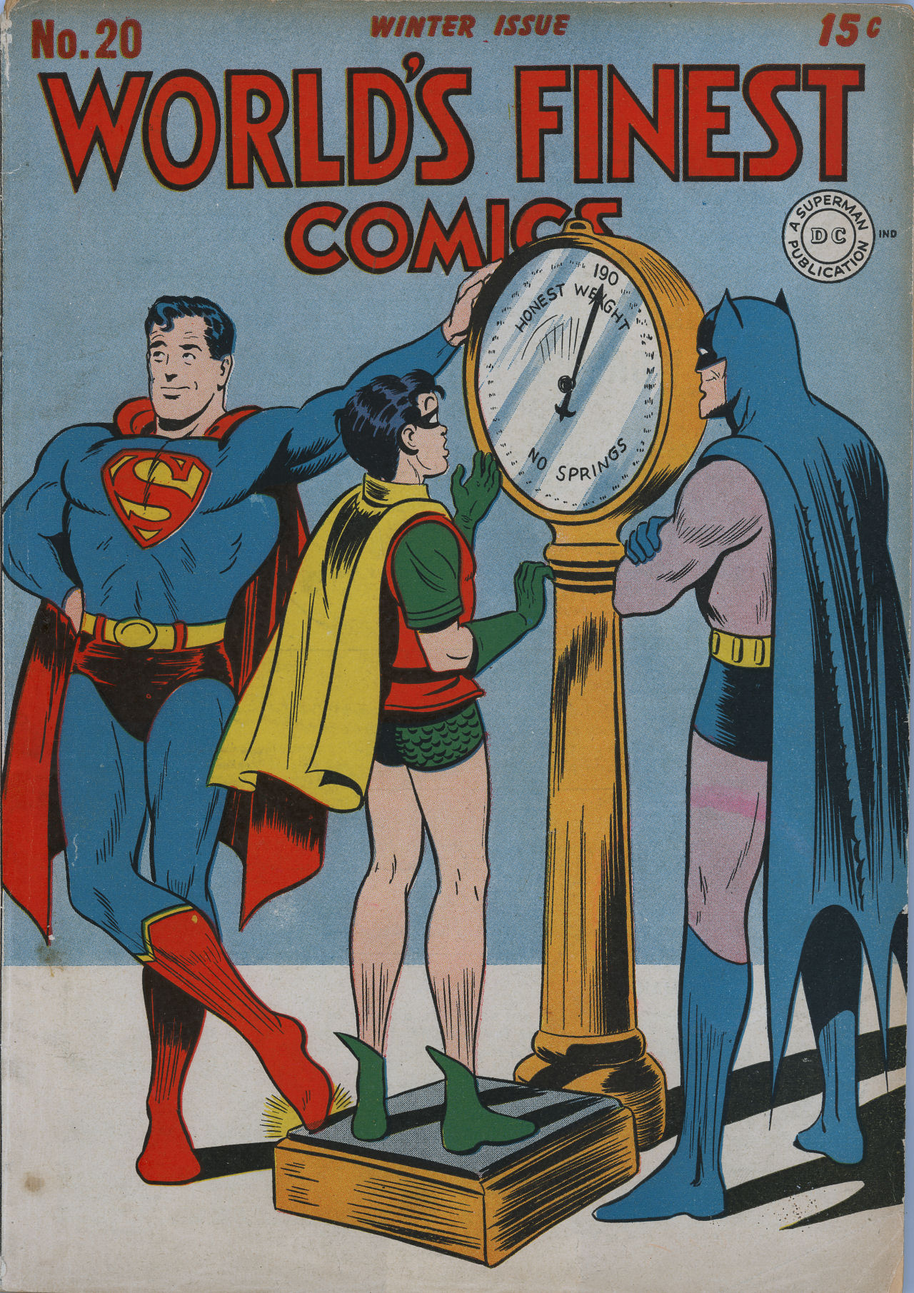 Read online World's Finest Comics comic -  Issue #20 - 1