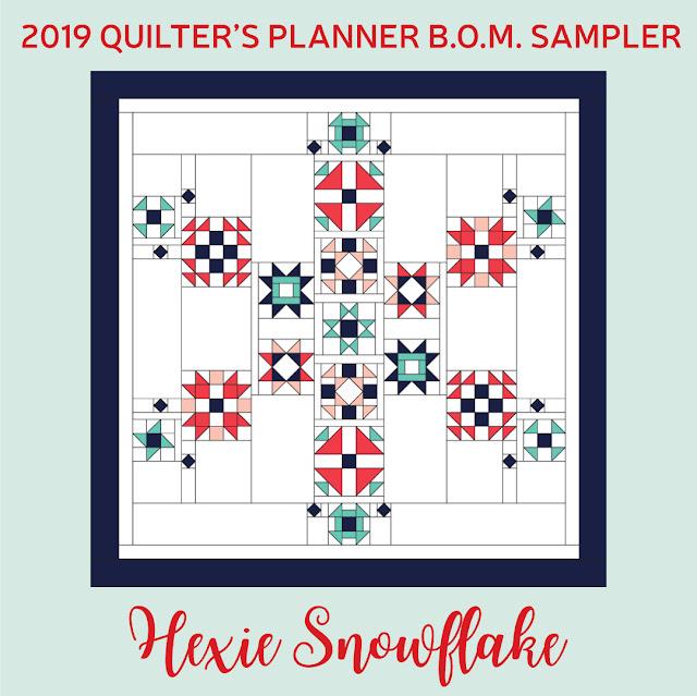 2019 Quilter's Planner BOM Sampler