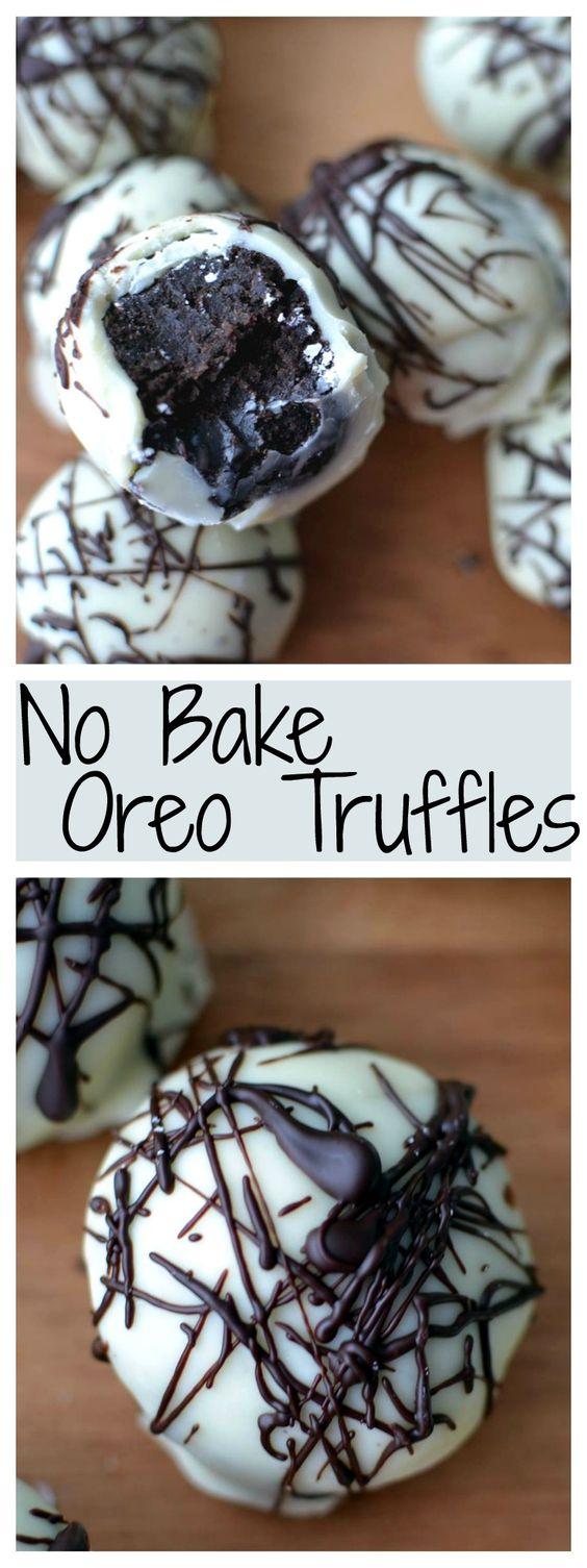 ★★★★★ 7 Review : Oreo Truffles #cookies #easycookierecipes #cookierecipes #oreo #truffles