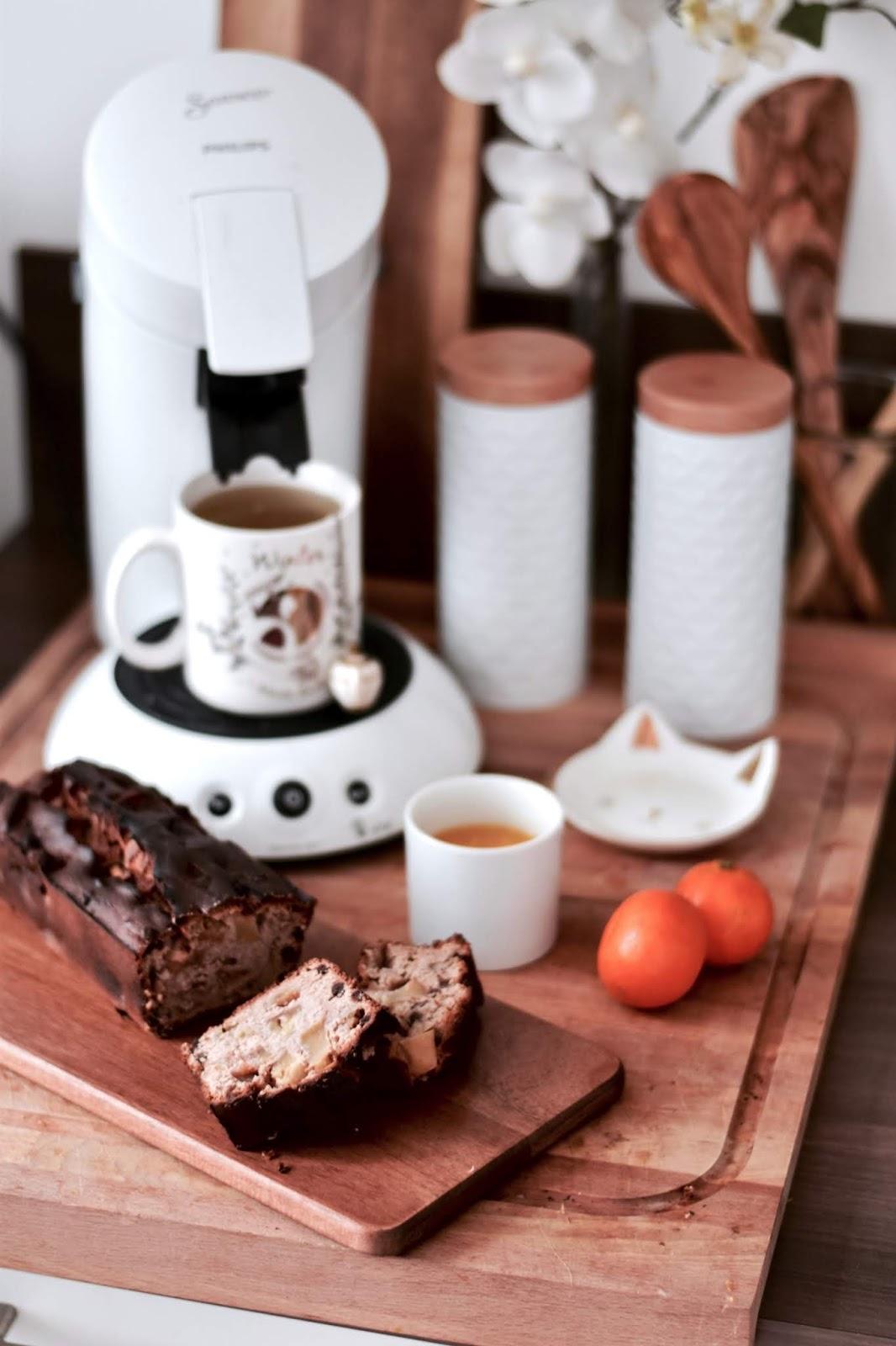Recette Facile : Cake aux pommes et aux pépites de chocolat