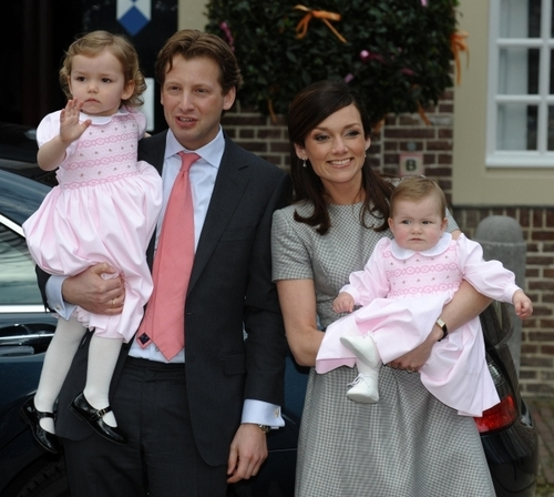 Prince Floris and Princess Aimée's first child, Magali Margriet Eleonoor van Vollenhoven, was born in Amsterdam on 9 October 2007