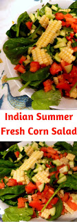 Make this perfectly delicious salad that highlights fresh summer corn.  It's easy and tastes oh so fresh! - Slice of Southern