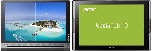 Comparativa mejores tablets 10,1 pulgadas de 250 euros