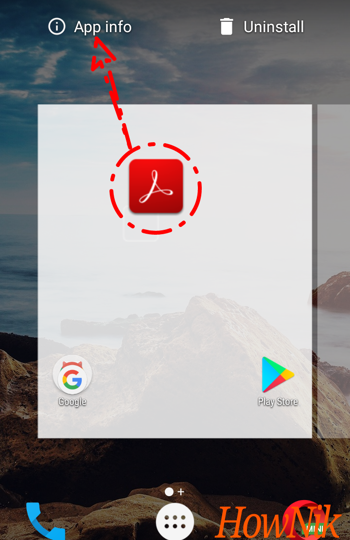 HowNik to uninstall/disable apps in android with images