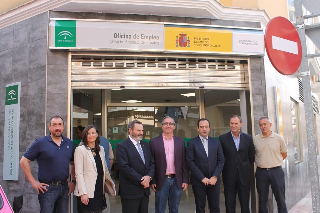 Bail n informativo inauguradas las nuevas instalaciones del sae sepe en bail n - Oficina de empleo sepe ...