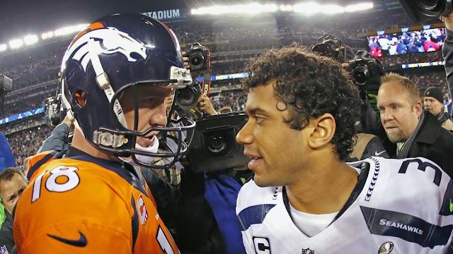 """Wilson para Manning: """"Você me inspirou a amar o jogo"""""""