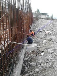 Proses pemasangan jenis waterstop ini adalah setelah dilakukan pengecoran lantai beton