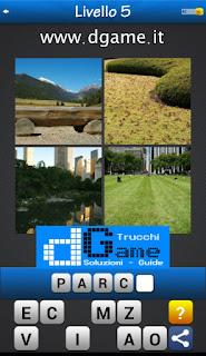 PACCHETTO 6 Soluzioni Trova la Parola - Foto Quiz con Immagini e Parole livello 5