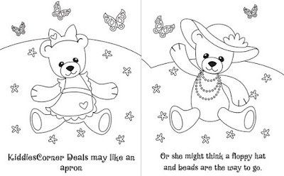 мишки раскраска Bears coloring pages