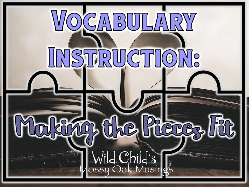 Vocabulary Instruction In The Readers Workshop Making The Pieces