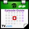 Haz clic sobre éste logo para ir a TV.com, luego elige tu serie y haz clic sobre Episode Guide.