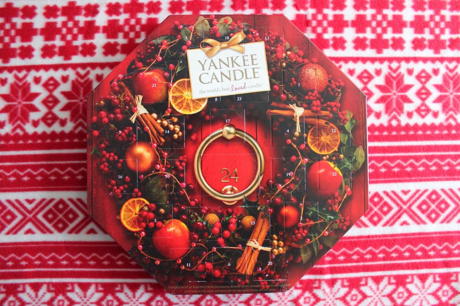 yankee candle adventni kalendar YANKEE CANDLE ADVENT CALENDAR yankee candle adventni kalendar