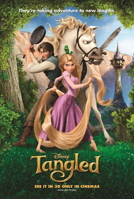 Disney Tangled movie poster
