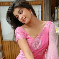 Madhurima sexy photoshoot in pink saree