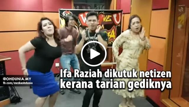 "VIDEO: Ifa Raziah Dikritik Netizen Kerana Tarian ""Gediknya"""