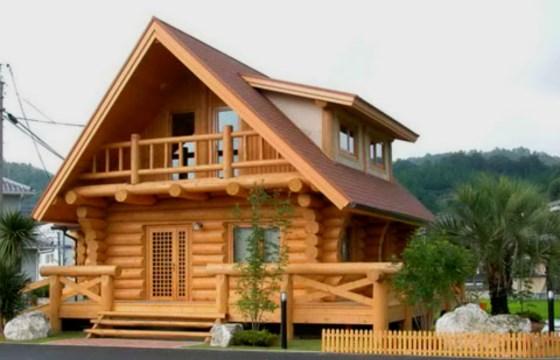 Rumah Kayu minimalis yang nyaman
