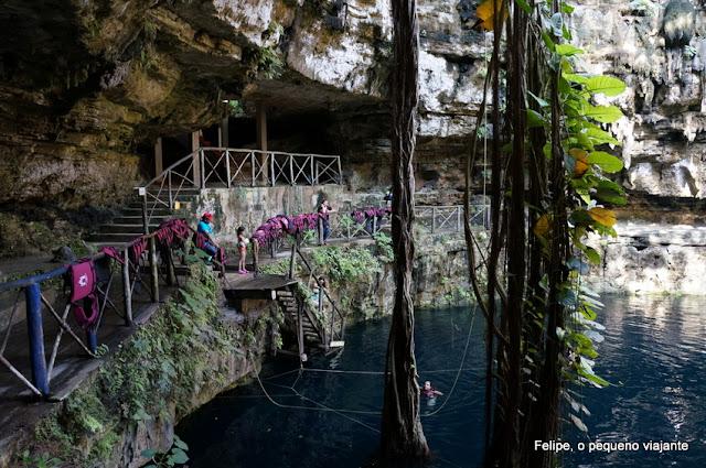 Cenote Oxman e Hacienda San Lorenzo