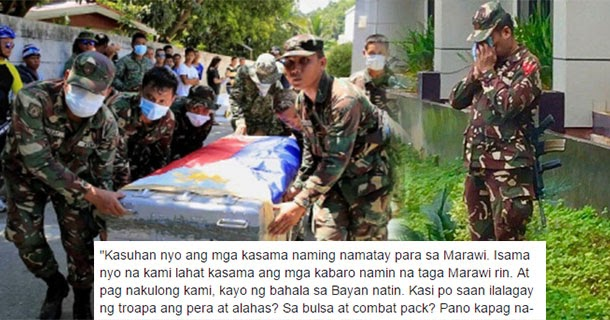 Soldier's emotional response to Maranao lawyers who accused
