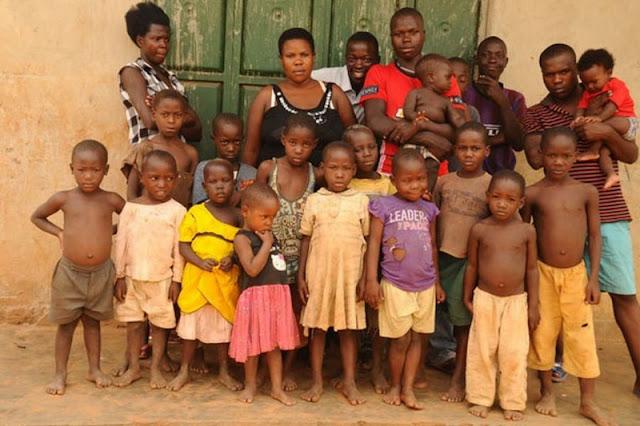 Самая плодовитая женщина Уганды: 39-летняя мама родила 38 детей от одного мужчины