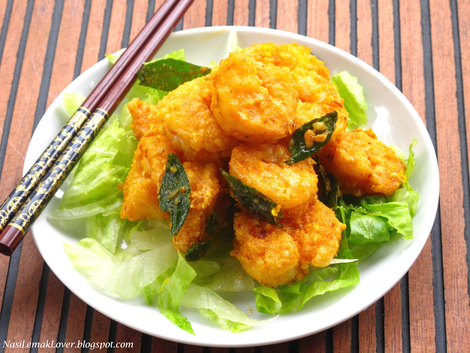 How To Cook Salted Egg Prawns