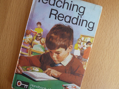 Ladybird vintage book Teaching Reading
